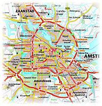 PUBLICPRESS Stadtplan Amsterdam - Produktdetailbild 1