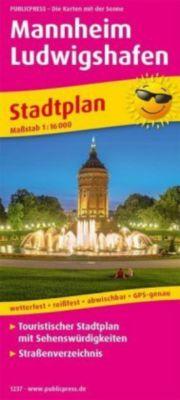 PublicPress Stadtplan Mannheim, Ludwigshafen