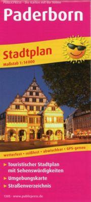 PUBLICPRESS Stadtplan Paderborn