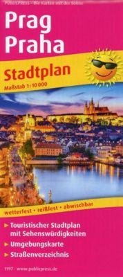 PUBLICPRESS Stadtplan Prag / Praha