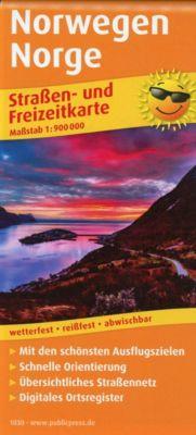 PUBLICPRESS Straßen- und Freizeitkarte Norwegen -  pdf epub