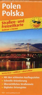 PUBLICPRESS Straßen- und Freizeitkarte Polen