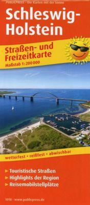 PublicPress Straßen- und Freizeitkarte Schleswig-Holstein