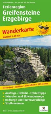PUBLICPRESS Wanderkarte Ferienregion Greifensteine Erzgebirge -  pdf epub