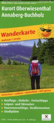 PublicPress Wanderkarte Kurort Oberwiesenthal - Annaberg-Buchholz -  pdf epub
