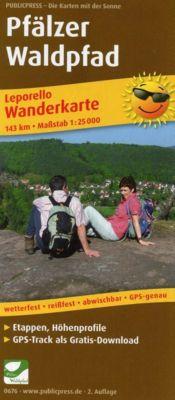PublicPress Wanderkarte Pfälzer Waldpfad, 23 Karten -  pdf epub