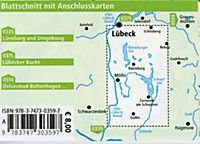 PUBPUBLICPRESS Rad- und Wanderkarte Lauenburgische Seen - Schaalsee - Produktdetailbild 1