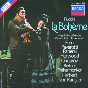 Puccini: La Bohème - Highlights, Freni, Pavarotti, Karajan, Bp