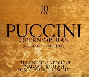 Puccini: Opern-Operas (Gesamt-Complete), G. Puccini, V. De Sabata, M. Callas, uvm.