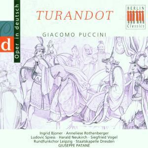 Puccini:Turandot (Qs/Deutsch), Bjoner, Rothenberger, Patane, Sd