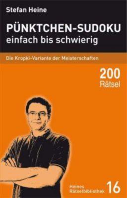 Pünktchen-Sudoku einfach bis schwierig, Stefan Heine