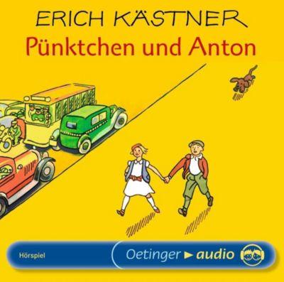 Pünktchen und Anton, 1 Audio-CD, Erich Kästner