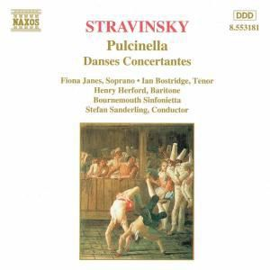 Pulcinella/Danses Concertantes, James, Bostridge, Gerelo