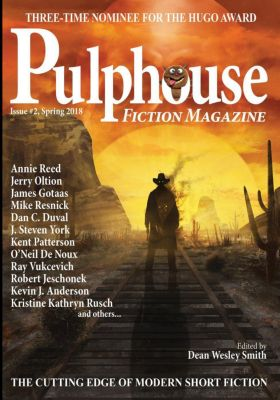 Pulphouse: Pulphouse Fiction Magazine Issue #2, Kevin J. Anderson, Mike Resnick, Kristine Kathryn Rusch, Robert Jeschonek, J. Steven York, Dean Wesley Smith, Jerry Oltion, Ray Vukcevich, Kate Pavelle, Annie Reed, Rob Vagle, Dan C. Duval, Stephanie Writt, Kent Patterson, O'Neil De Noux, James Gotaas, Patrick Alan Mammay
