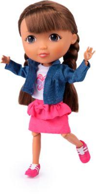 Puppe Lisa als Tierfreundin, ca. 30cm