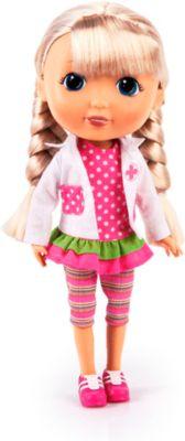 Puppe Lisa mit Doktorset, ca. 30cm