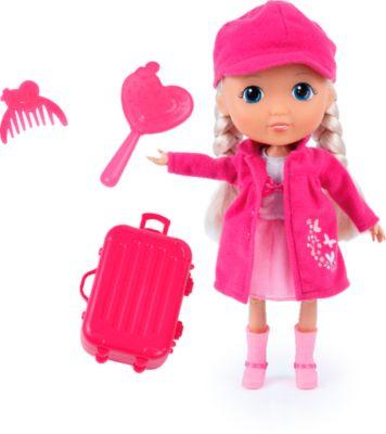 Puppe Lisa mit Reiseset, ca. 30cm