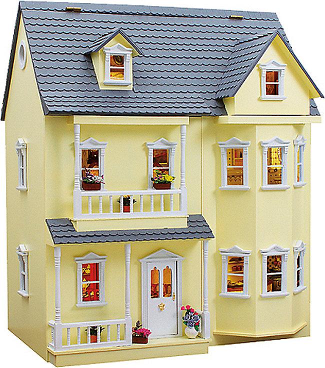 Puppenhaus Bausatz Für Erwachsene : puppenhaus bausatz fassadenfarbe gelb sammler edition ~ A.2002-acura-tl-radio.info Haus und Dekorationen