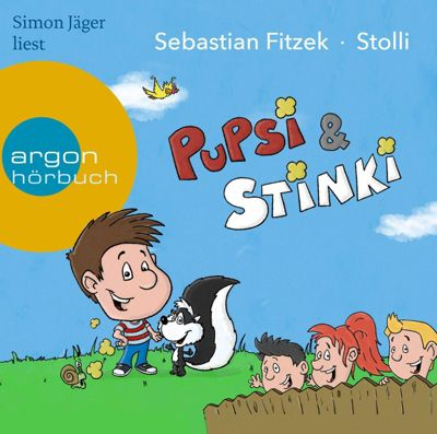 Pupsi und Stinki, 1 Audio-CD, Sebastian Fitzek