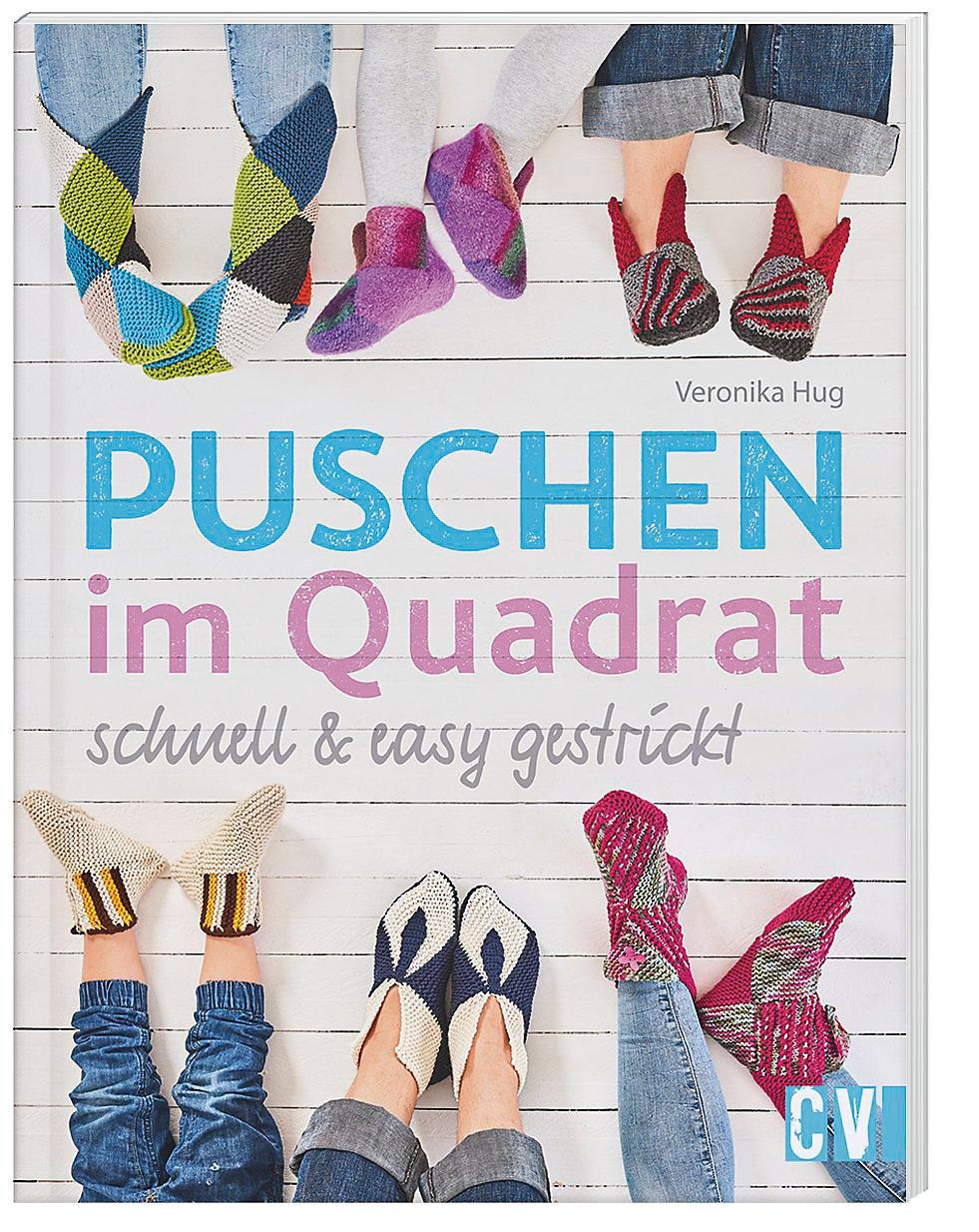 Puschen Im Quadrat Schnell Easy Gestrickt Buch Weltbildde