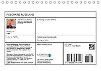 PUSCHKINS RUSSLAND (Tischkalender 2019 DIN A5 quer) - Produktdetailbild 13