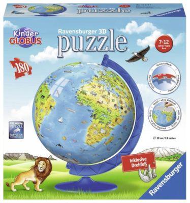 puzzleball, Kinderglobus in deutscher Sprache
