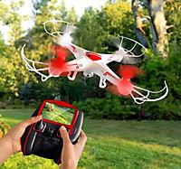 Quadrocopter mit Kamera und Display - Produktdetailbild 1