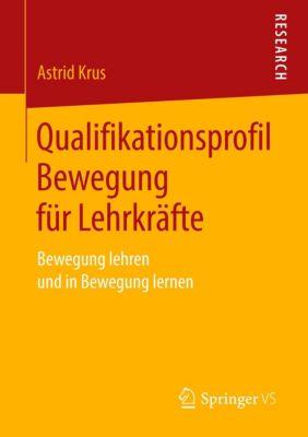 Qualifikationsprofil Bewegung für Lehrkräfte - Astrid Krus |