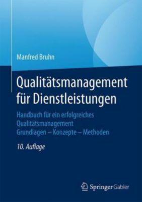 Qualitätsmanagement für Dienstleistungen, Manfred Bruhn
