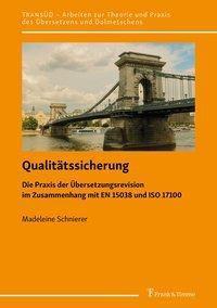Qualitätssicherung - Madeleine Schnierer  
