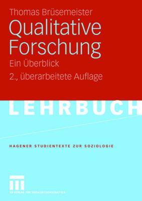 Qualitative Forschung, Thomas Brüsemeister