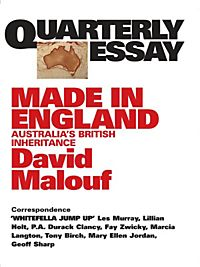 fly away peter david malouf essay Fly away peter essaysit is the repetitions and contrasts in the events, characters, settings, or use of language in a text which often consolidate our understanding of it in what ways did repetitions and contrasts in one of the texts guide your understanding 'what's life all about&a.