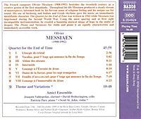 Quartett für das Ende der Zeit / Thème et variations für Violine und Klavier - Produktdetailbild 1