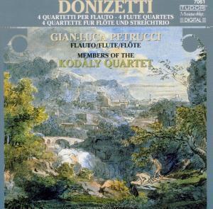 Quartette F.Flöte U.Streicher, Petrucci, Kodaly Quartett