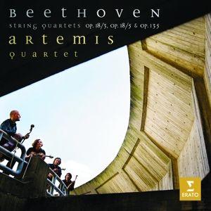 Quartette Opp.18/3,18/5,135, Artemis Quartett