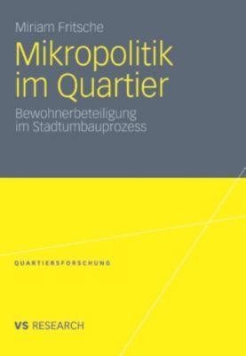Quartiersforschung: Mikropolitik im Quartier, Miriam Fritsche