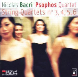 Quatuors 3,4,5 & 6, Quatuor Psophos