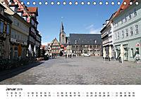 Quedlinburg im Harz (Tischkalender 2019 DIN A5 quer) - Produktdetailbild 1
