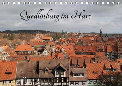 Quedlinburg im Harz (Tischkalender 2019 DIN A5 quer), Jörg Sabel