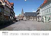 Quedlinburg im Harz (Wandkalender 2019 DIN A2 quer) - Produktdetailbild 1