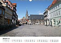 Quedlinburg im Harz (Wandkalender 2019 DIN A3 quer) - Produktdetailbild 1