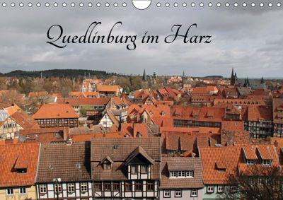 Quedlinburg im Harz (Wandkalender 2019 DIN A4 quer), Jörg Sabel