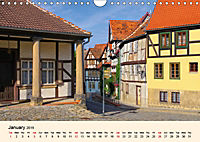 Quedlinburg - World Heritage Site in the Harz Mountains (Wall Calendar 2019 DIN A4 Landscape) - Produktdetailbild 1