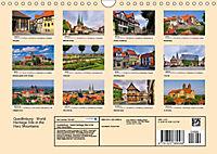 Quedlinburg - World Heritage Site in the Harz Mountains (Wall Calendar 2019 DIN A4 Landscape) - Produktdetailbild 13
