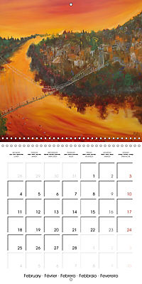 QUIETLY FLOWS THE RIVER (Wall Calendar 2019 300 × 300 mm Square) - Produktdetailbild 2