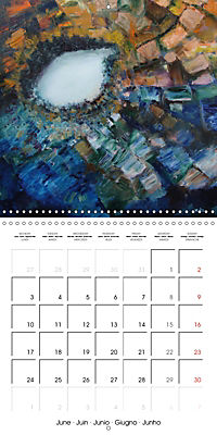 QUIETLY FLOWS THE RIVER (Wall Calendar 2019 300 × 300 mm Square) - Produktdetailbild 6