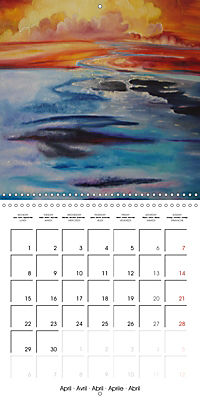 QUIETLY FLOWS THE RIVER (Wall Calendar 2019 300 × 300 mm Square) - Produktdetailbild 4