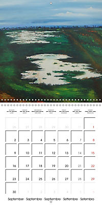 QUIETLY FLOWS THE RIVER (Wall Calendar 2019 300 × 300 mm Square) - Produktdetailbild 9