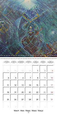 QUIETLY FLOWS THE RIVER (Wall Calendar 2019 300 × 300 mm Square) - Produktdetailbild 3