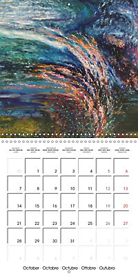 QUIETLY FLOWS THE RIVER (Wall Calendar 2019 300 × 300 mm Square) - Produktdetailbild 10